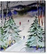 Glades At Killington Vermont Canvas Print