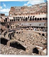 Gladiators And Christians Canvas Print