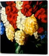 Gladiolas Canvas Print