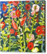 Gladiolus, 11x14, Oil, '07 Canvas Print
