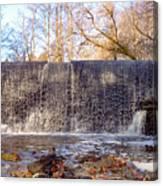 Gladwyne - Dove Lake Waterfall Panorama Canvas Print