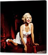 Glance At Hollywood - Marilyn Monroe Canvas Print