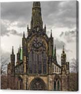 Glasgow Cathedral Front Entrance Canvas Print