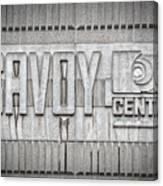 Glasgow Savoy Centre Canvas Print