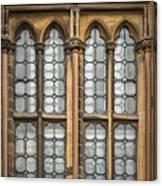 Glasgow Unversity Window Canvas Print