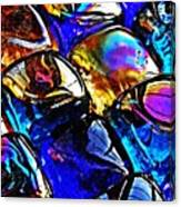 Glass Abstract 11 Canvas Print