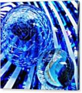 Glass Abstract 110 Canvas Print