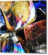 Glass Abstract 114 Canvas Print