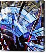 Glass Abstract 219 Canvas Print