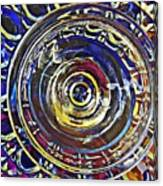 Glass Abstract 587 Canvas Print