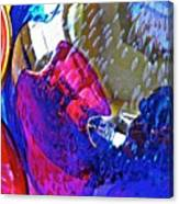 Glass Abstract 609 Canvas Print