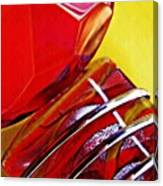Glass Abstract 649 Canvas Print