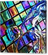 Glass Abstract 696 Canvas Print