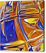 Glass Abstract 768 Canvas Print