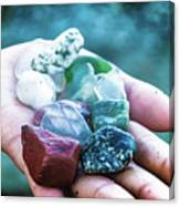 Glass And Stone Canvas Print