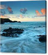 Glass Beach Dawn Canvas Print