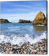 Glass Beach, Fort Bragg California Canvas Print