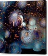 Glass Bubbles 1 Canvas Print