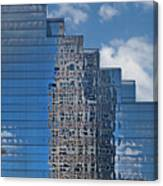Glass Building Reflections Canvas Print