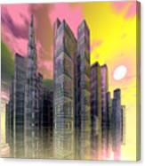Glass City Canvas Print