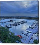 glass Harbour Canvas Print