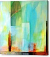 Glass Houses Vi Canvas Print