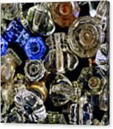 Glass Knobs Canvas Print