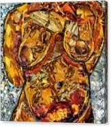 Glass Lady Canvas Print