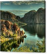 Glass Lake Canvas Print