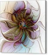 Glass Petals Canvas Print