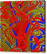 Glass Sculpture A-la Monet 2 Canvas Print