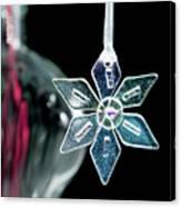 Glass Star Decoration Canvas Print