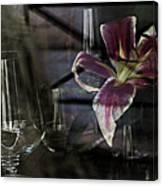 Glass Still Life #1. Canvas Print