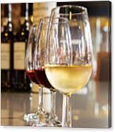 Glasses Of  Port Wine Canvas Print