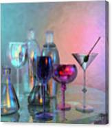 Glassy Still Life Canvas Print