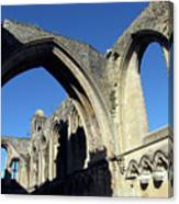 Glastonbur Abbey 2 Canvas Print