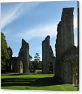 Glastonbury Abbey 3 Canvas Print