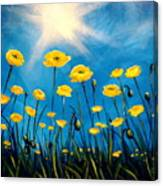 Gleaming Canvas Print