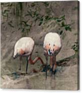 Gleaners Canvas Print