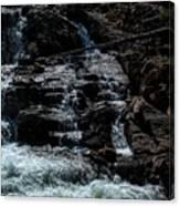 Glen Alpine Falls 8 Canvas Print