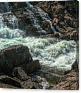Glen Alpine Falls 9 Canvas Print