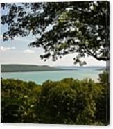 Glen Lake Overlook Canvas Print