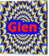 Glen Canvas Print