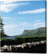 Glencar Lake With View Of Benbulben Ireland Canvas Print