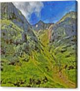 Glencoe Scotland Canvas Print