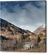 Glenfinnan Panorama Canvas Print