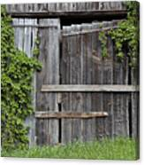 Glengarry Barn Doors Canvas Print