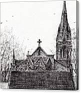 Glenmuick Church Canvas Print