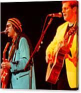 Glenn Frey Joe Walsh-1030 Canvas Print