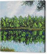 Glenoak Lake Canvas Print